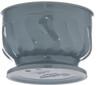 Pedestal Base Bowl, 9 oz., insulated, Turnbury®, sage (48 each per case) (3300/84)
