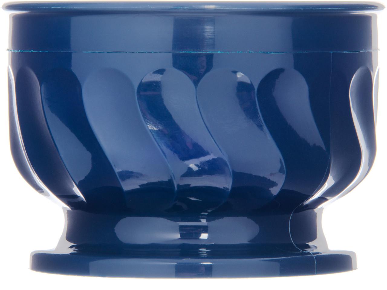 Pedestal Base Bowl, 9 oz., insulated, Turnbury®, Midnight blue (48 each per case) (3300/28)