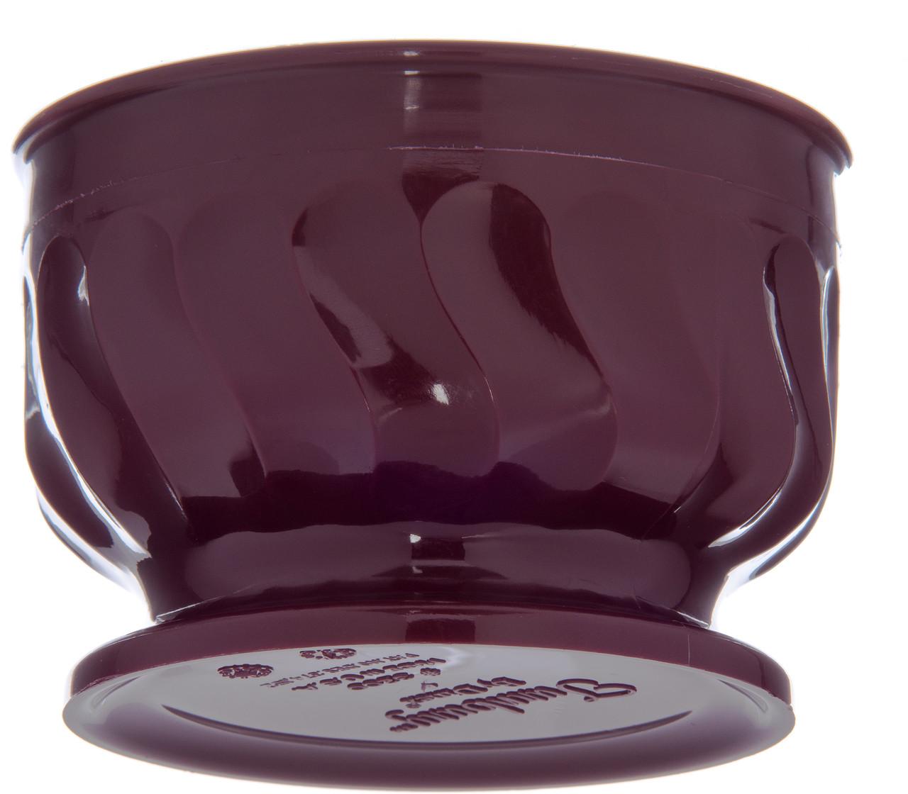 Pedestal Base Bowl, 9 oz., insulated, Turnbury®, cranberry (48 each per case) (3300/20)