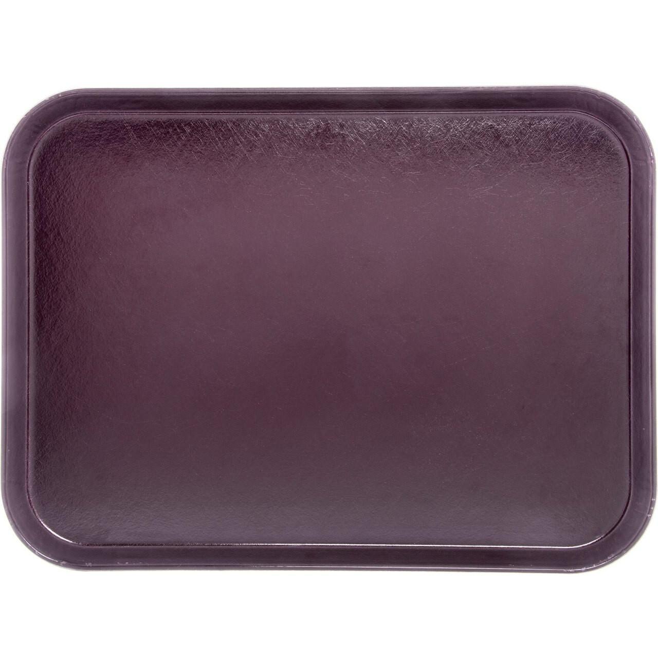 "Tray, 15"" x 20"", size M, flat, fiberglass, cranberry (12 each per case)"