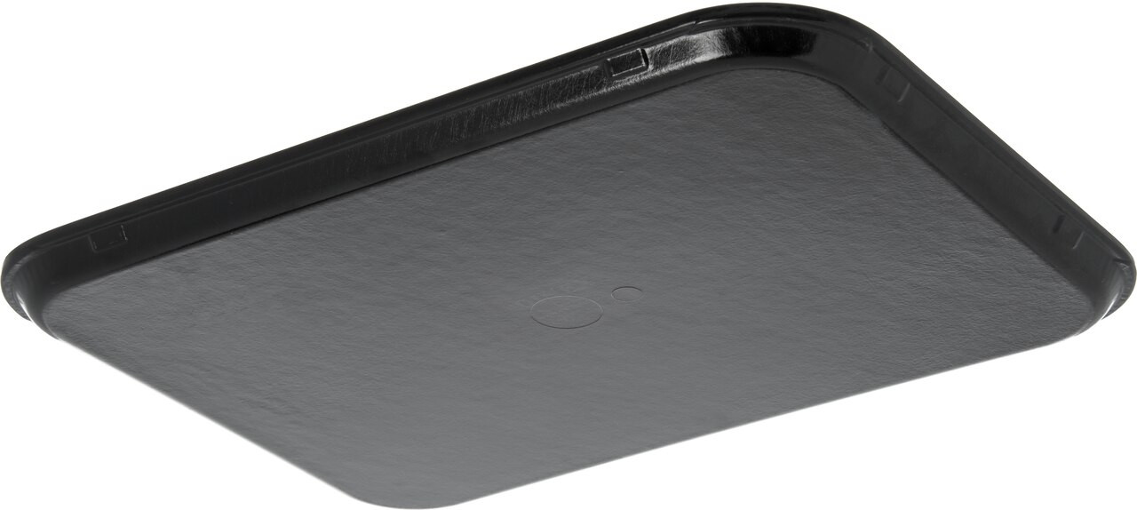 "Tray, 15"" x 20"", size M, flat, fiberglass, onyx (12 each per case)"