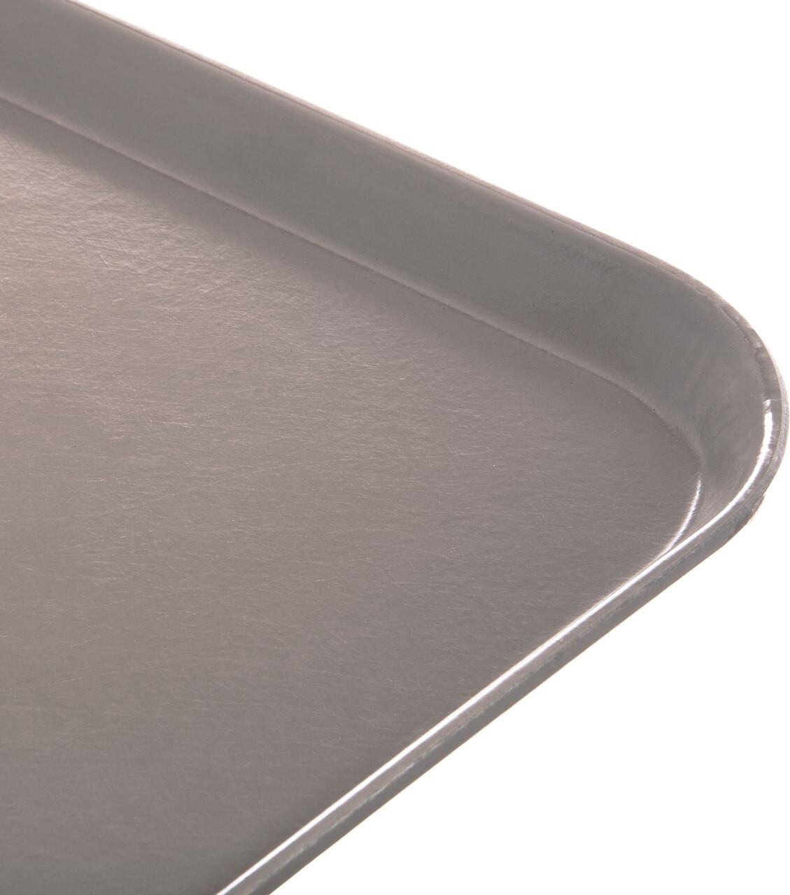 "Tray, 15"" x 20"", size M, flat, fiberglass, latte (12 each per case)"