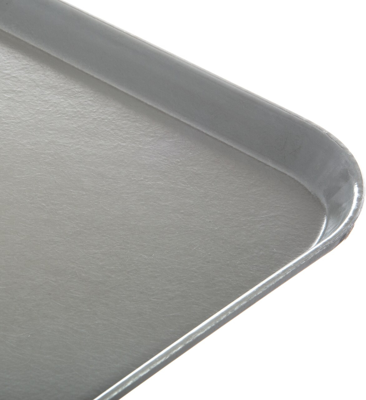 "Tray, 15"" x 20"", size M, flat, fiberglass, gray (12 each per case)"