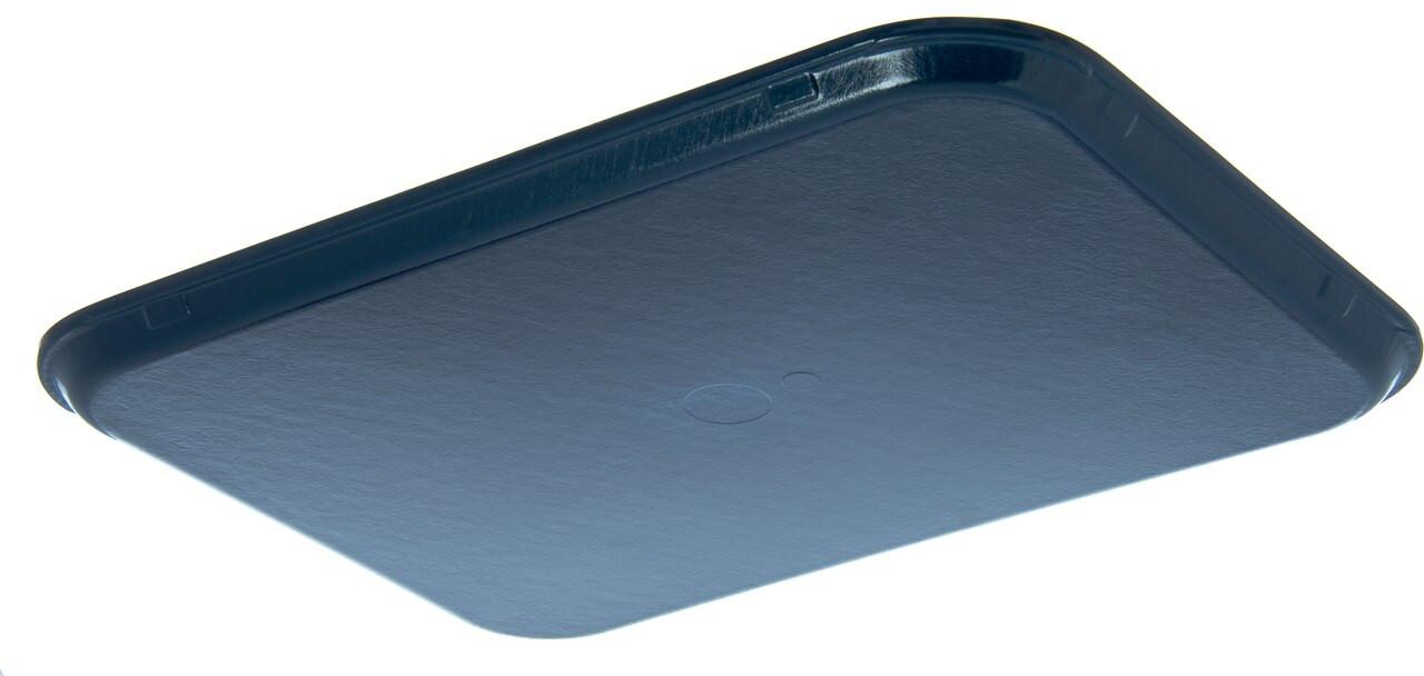 "Tray, 15"" x 20"", size M, flat, fiberglass, Midnight blue (12 each per case)"