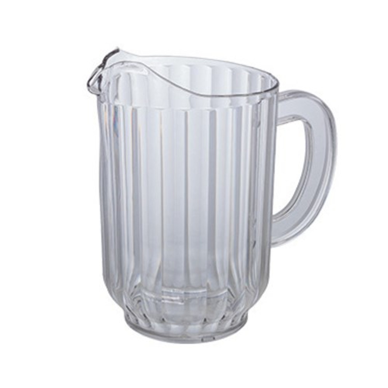 Water Pitcher, 60 oz., polycarbonate, clear, NSF