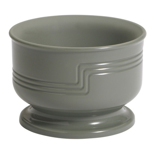 "The Shoreline Collection Bowl, small, 5 oz., outside dia. 3-1/2"", 2-2/5""H, dishwasher safe,  polypropylene, meadow, NSF"