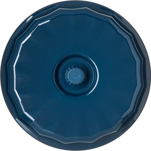 """Tropez® Convection/Thermalization Ware Entree Dome, 9-1/5"""" dia., fits 9"""" plate, high-temp, constructed of high heat resin, Midnight blue (12 each per case) (9400/28B)"""