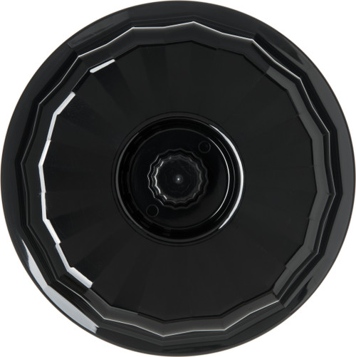 """Tropez® Convection/Thermalization Ware Entree Dome, fits 7"""" plate, high-temp, constructed of high heat resin, onyx (12 each per case) (9407B/11)"""