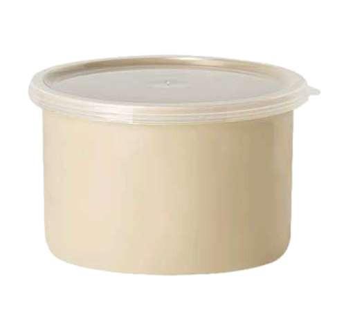 G.E.T. CR-0150 1.5 Qt. Plastic Salad Crock With Lid 1 Doz. Buffet & Salad Bar Supplies Dietary Equipment Company 72.88