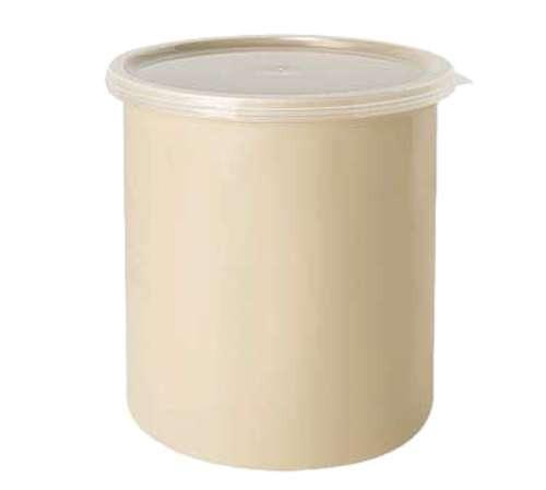 G.E.T. CR-0270 2.7 Qt. Plastic Salad Crock With Lid 1 Doz. Buffet & Salad Bar Supplies Dietary Equipment Company 83.21