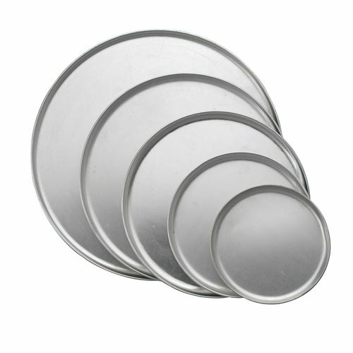 Pizza Pans, round, coupe, aluminum