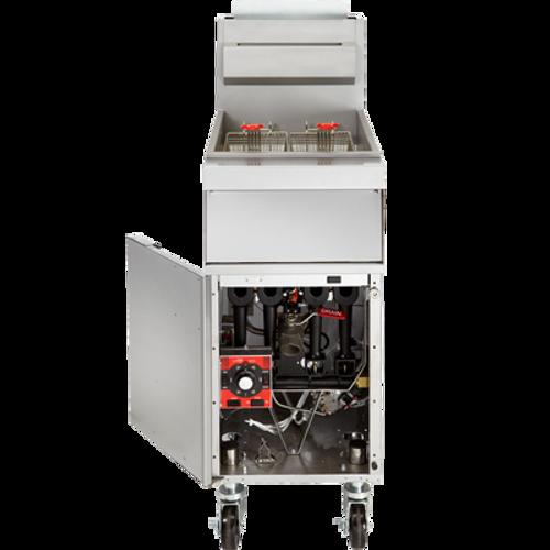 Vulcan 1GR45M Fryer 50 lb Capacity Free Standing Gas Fryer