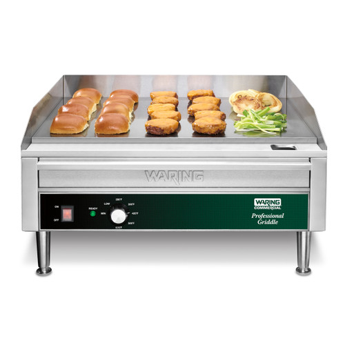 """Countertop Electric Griddle — 24"""" x 16"""" Cooking Surface, 240V, 3300W (24"""" x 16"""" cooking surface)"""