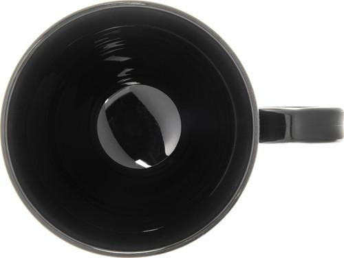 Pedestal Base Mug, 8 oz., polypropylene, insulated, Turnbury®, onyx (48 each per case) (3000/11)