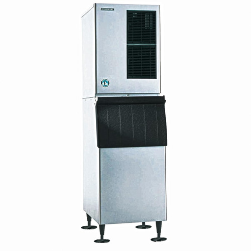 "Ice Maker, Cube-Style, 30""W, air-cooled, self-contained condenser, production capacity up to 905 lb/24 hours at 70°/50° (753 lb AHRI certified at 90°/70°), crescent cube style, stainless steel exterior, R-404A refrigerant, 208-230v/60/1-ph, 13.0 amps, NSF, UL. PICTURED WITH BIN STORAGE ACCESSORY"