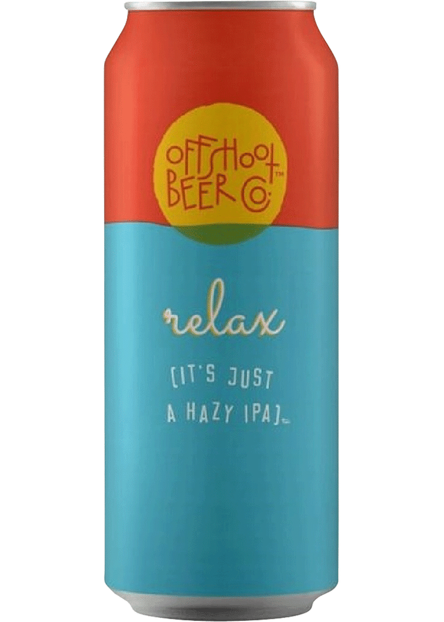 Offshoot Beer Co  Relax (it's just a hazy IPA) 4 Pack | 16oz Cans