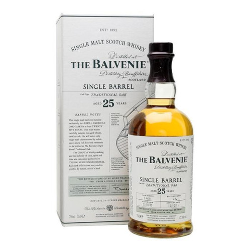 The Balvenie 25 Year Old Single Barrel