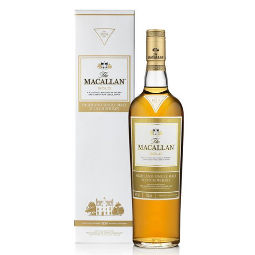 The Macallan Gold 1824 Series Single Malt Scotch