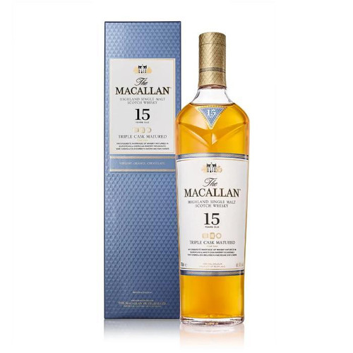 The Macallan Triple Cask Matured 15 Years Old