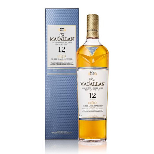 The Macallan Triple Cask Matured 12 Years Old