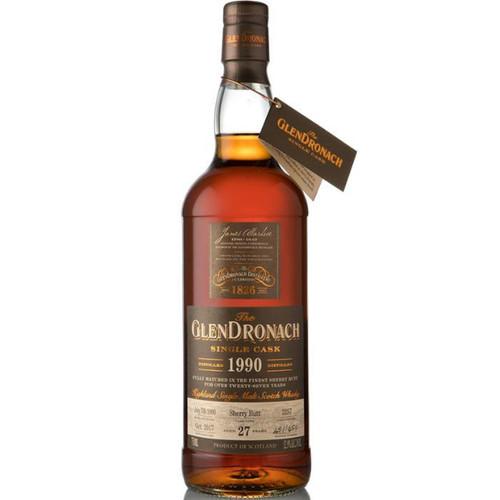 Glendronach 27 Year Old 1990 Single Cask #2257