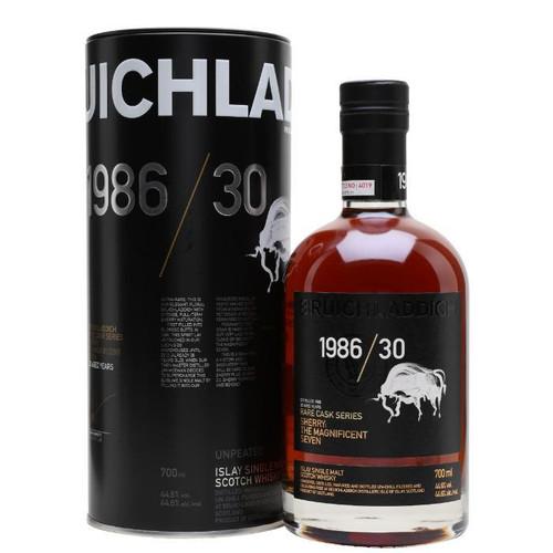 Bruichladdich 1986/30 Sherry: The Magnificent Seven