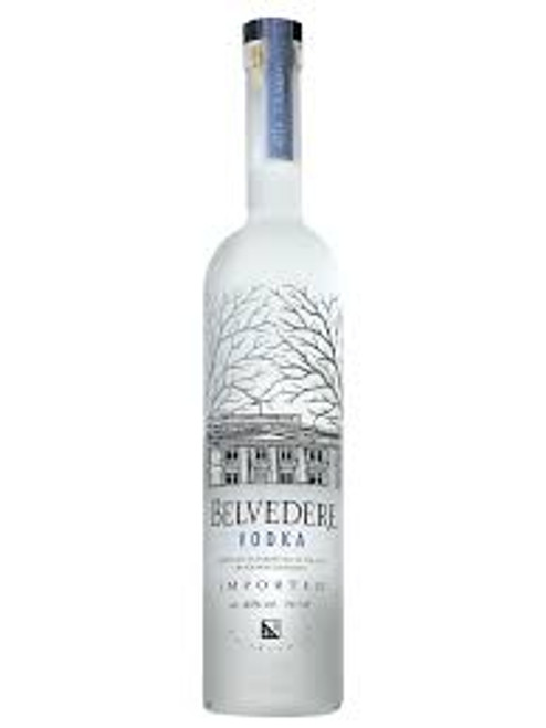A bottle of glorious quadruple-distilled rye vodka of extraordinary purity, Belvedere is as well known for its beautiful bottle as for its quality. A style-bar favourite.