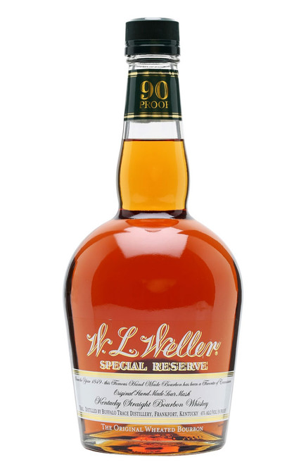 The Original Wheated Bourbon Whiskey features an exceptionally smooth taste, substituting wheat for rye grain. Bottled at 90 proof, this bourbon stands out with its burnt orange color.