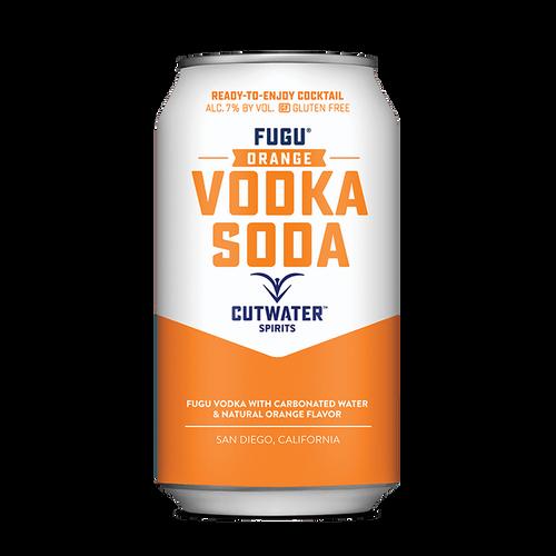Fugu Orange Vodka Soda (4 Pack - 12 Ounce Cans)