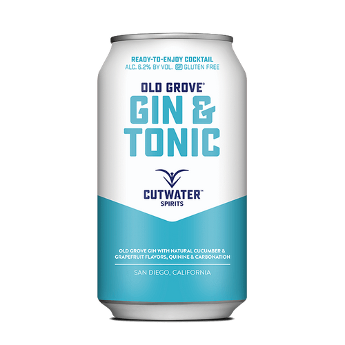 Old Grove Gin & Tonic (4 Pack - 12 Ounce Cans)