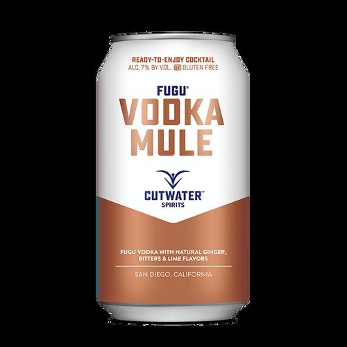 Fugu Vodka Mule (4 Pack - 12 Ounce Cans)
