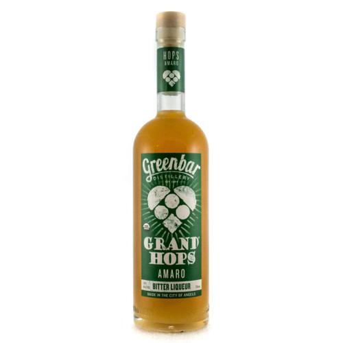 Grand Hops Amaro Organic Bitter Liqueur