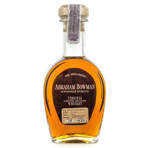 Abraham Bowman Limited Edition