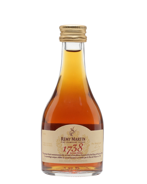 Buy Rémy Martin, 1738 Accord Royal Cognac 50ml Shot online at sudsandspirits.com and have it shipped to your door nationwide.