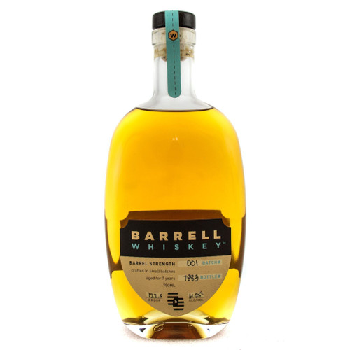 Barrell Whiskey Batch 001