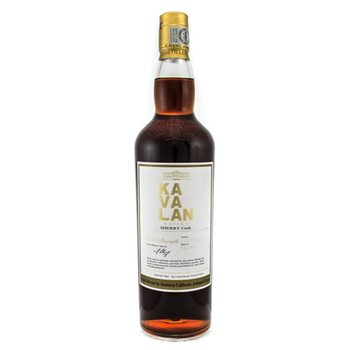 Kavalan Sherry Cask Strength Single Barrel Hand Selected By Artisian Group Of SWS