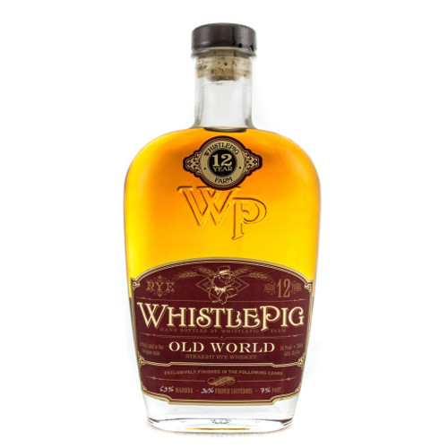WhistlePig 12 Year Old World