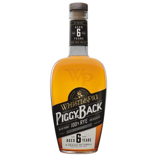 WhistlePig Piggyback 6 Year Old Rye Whiskey