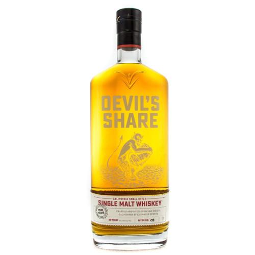 Devil's Share Single Malt Whiskey