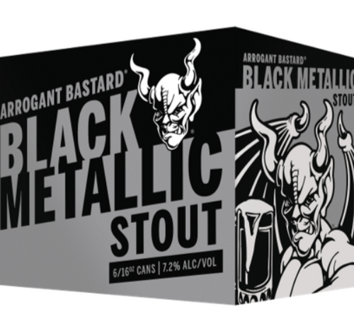 Arrogant Bastard Black Metallic Stout 6 Pack | 16oz Can