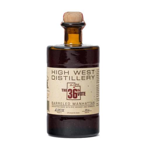 High West Distillery 36th Vote Barreled Manhattan