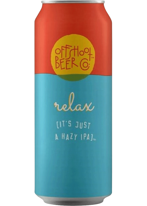 Offshoot Beer Co. Relax (it's just a hazy IPA) 4 Pack | 16oz Cans