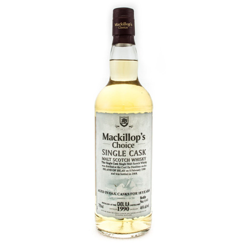 Mackillop's Choice Single Cask 18 Year Old