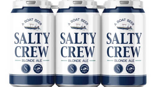 Salty Crew Blonde Ale Collaborations with Coronado Brewing available at SudsandSpirits.com
