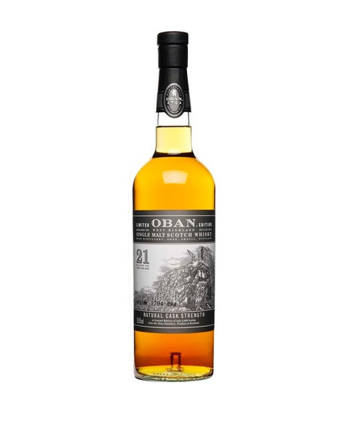 Buy Oban 21 year limited Scotch Whiskey online at sudsandspirits.com