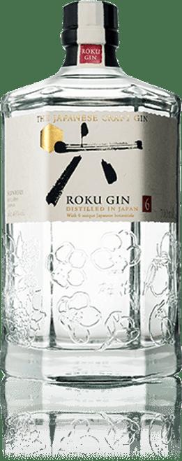 Buy The Japanese Craft Gin ROKU from the Suntory distillery online at sudsandspirits.com