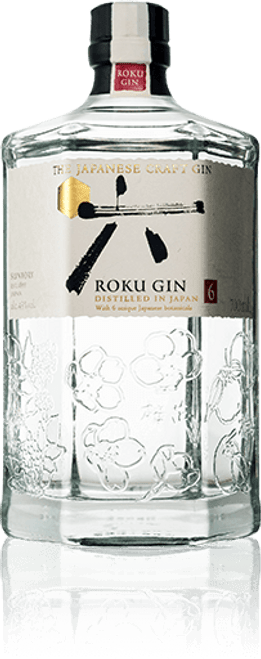 Buy The Japanese Craft Gin ROKU from the Suntory distillery online at sudsandspirits.com