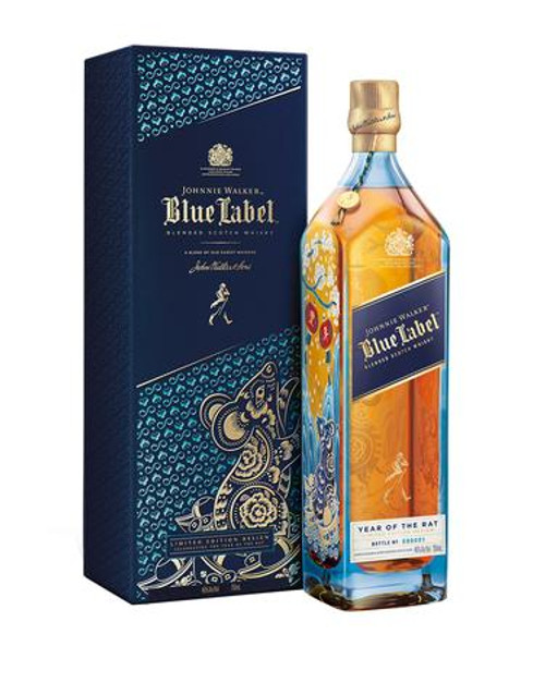 Buy Johnnie Walker Blue Label Year of the Rat Limited Edition online at SudsandSpirits.com