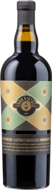 Buy Four Virtues 2016 Bourbon Barrel Aged Cabernet Sauvignon online at sudsandspirits.com