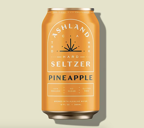 PINEAPPLE Ashland Seltzer  buy at Suds and Spirits